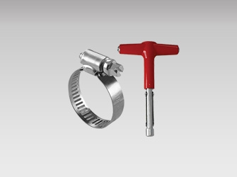 Hose Clamps & Wrench