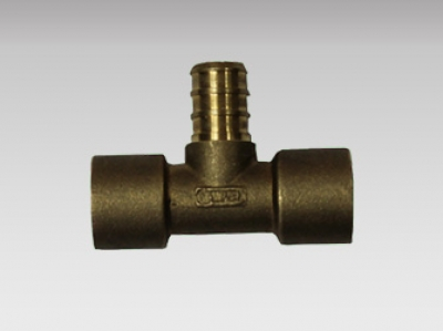 Tee Sweat Adapter - Pex Brass