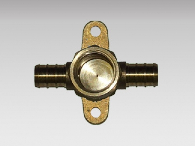 Washing Machine Tee - Pex Brass