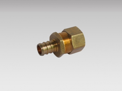Transition Fitting - Pex Brass