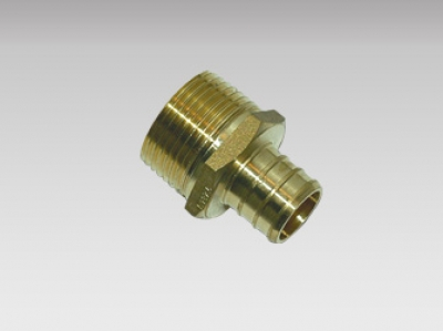 Male Adapter MPT - Pex Brass