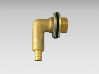 Shower Elbow - Pex Brass